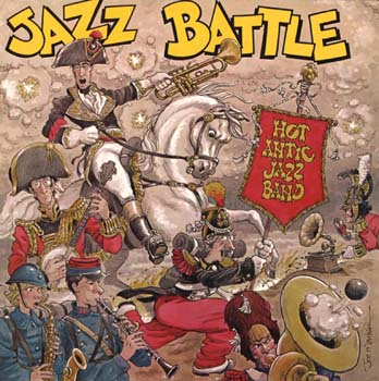Jazz Battle Album Cover