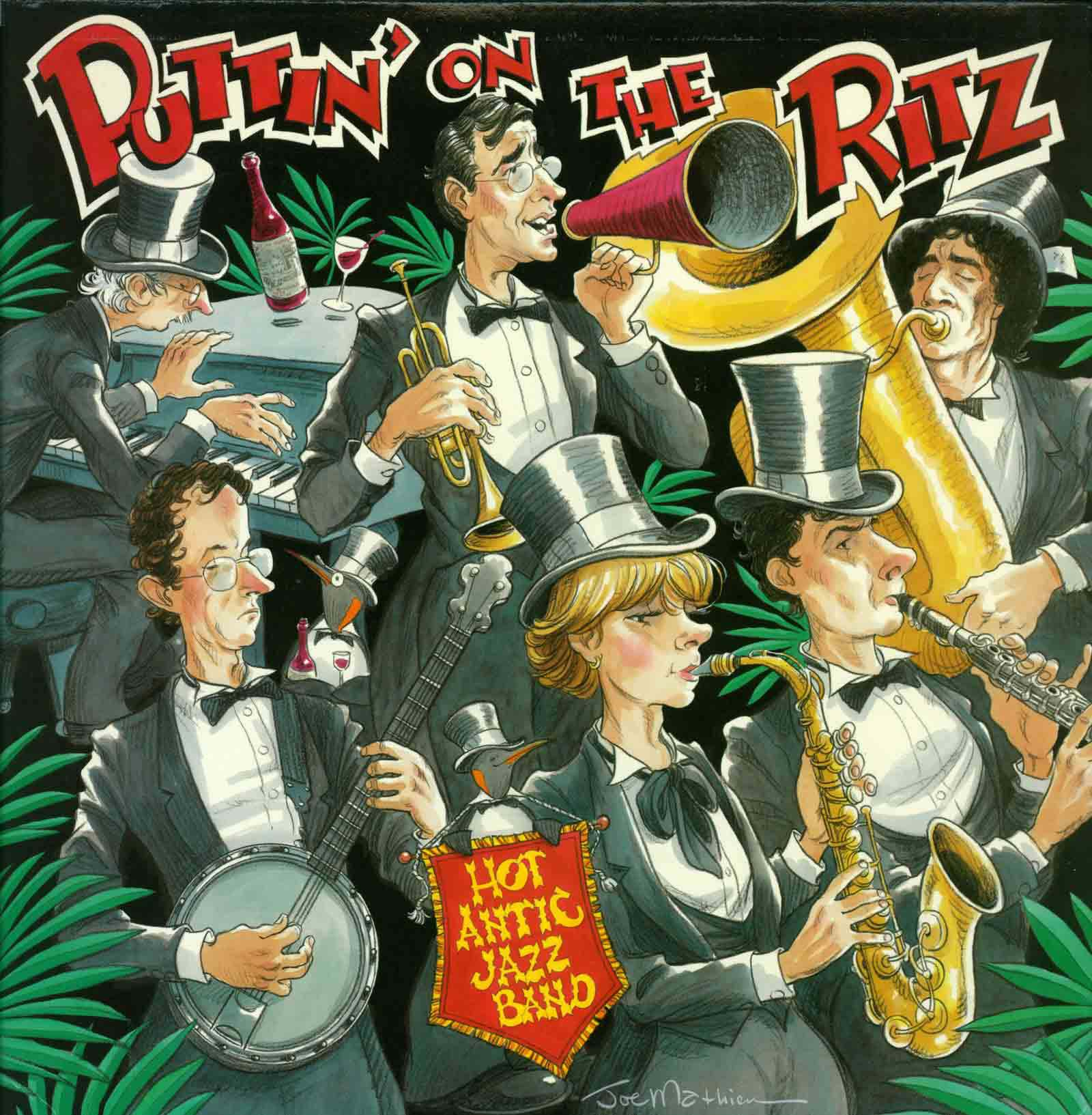 Puttin' On The Ritz Album Cover