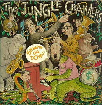The Jungle Crawlers Stompin' On Down Album Cover