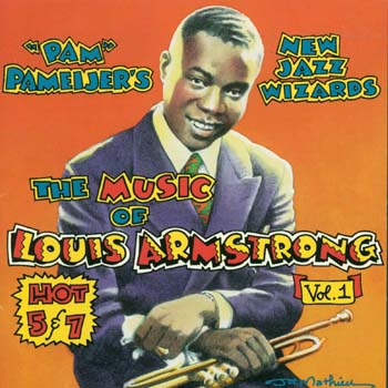 The Music of Louie Armstrong Album Cover