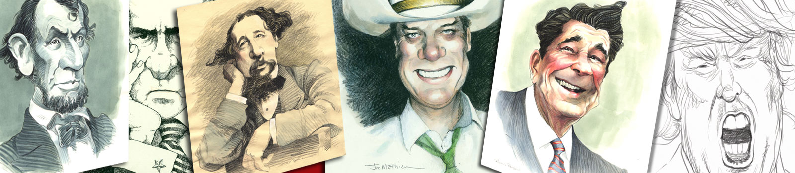 Joe Mathieu Caricatures
