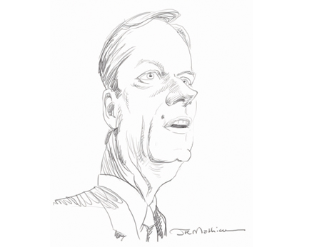 Joe Mathieu Caricature Charlie Baker