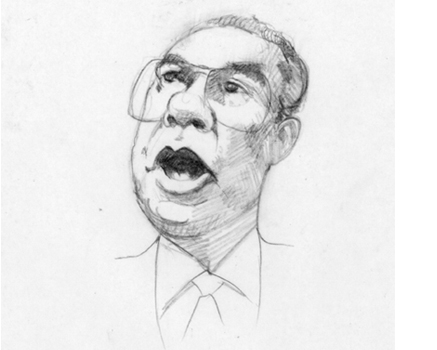 Joe Mathieu Caricature Colin Powell