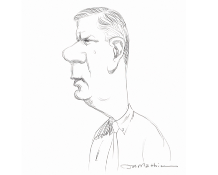 Joe Mathieu Caricature Marty Walsh