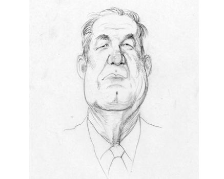 Joe Mathieu Caricature Pat Buchanan