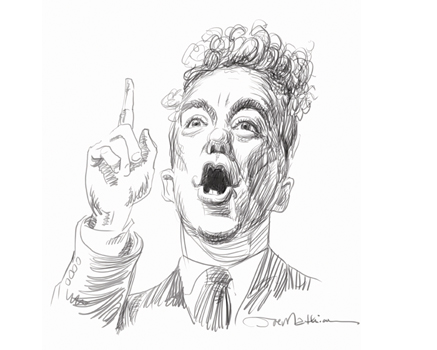 Joe Mathieu Caricature Rand Paul