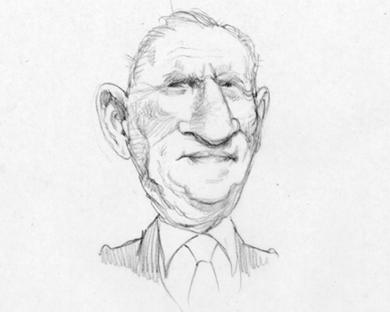 Joe Mathieu Caricature Ross Perot