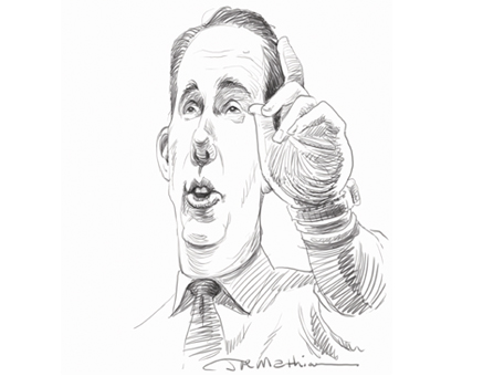 Joe Mathieu Caricature Scott Walker