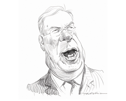 Joe Mathieu Caricature Tom Menino