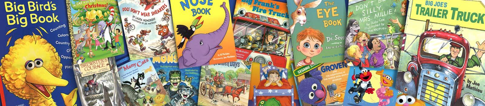 Joe Mathieu Children's Books
