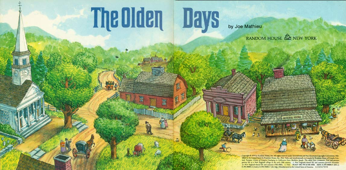 The Olden Days pages 4-5