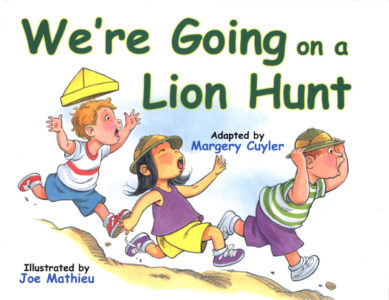 We're Going on a Lion Hunt cover
