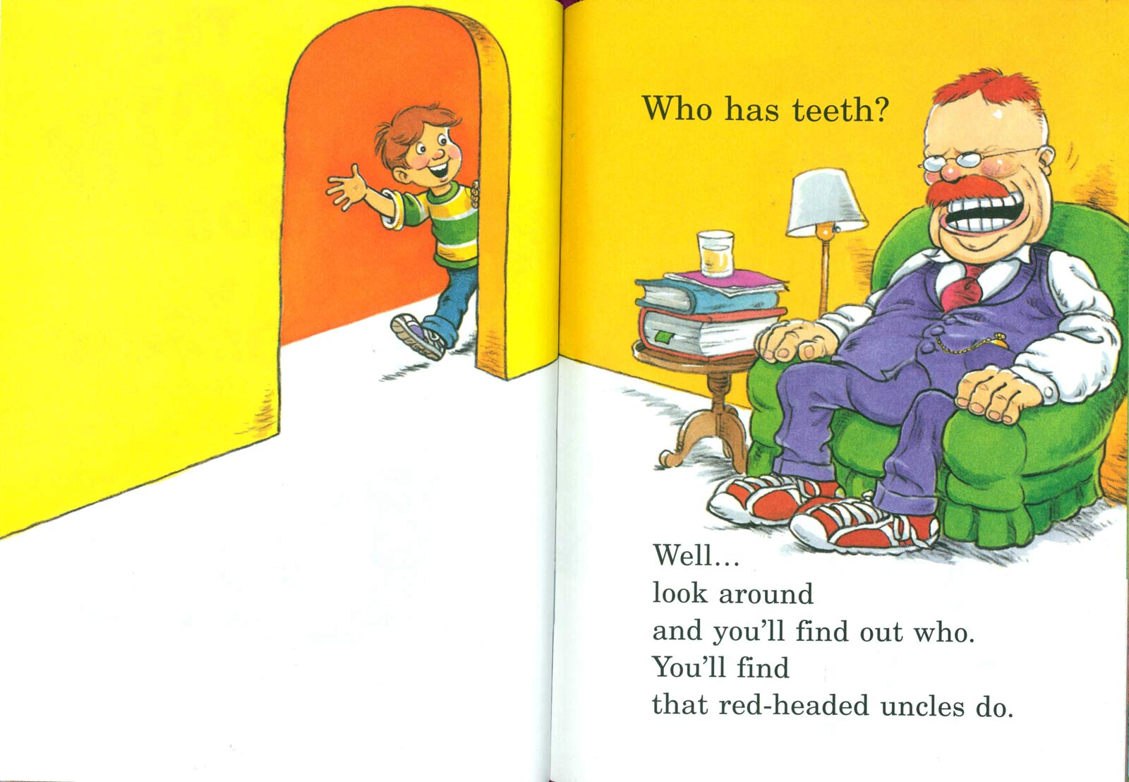 Doctor Seuss The Tooth Book Spread One