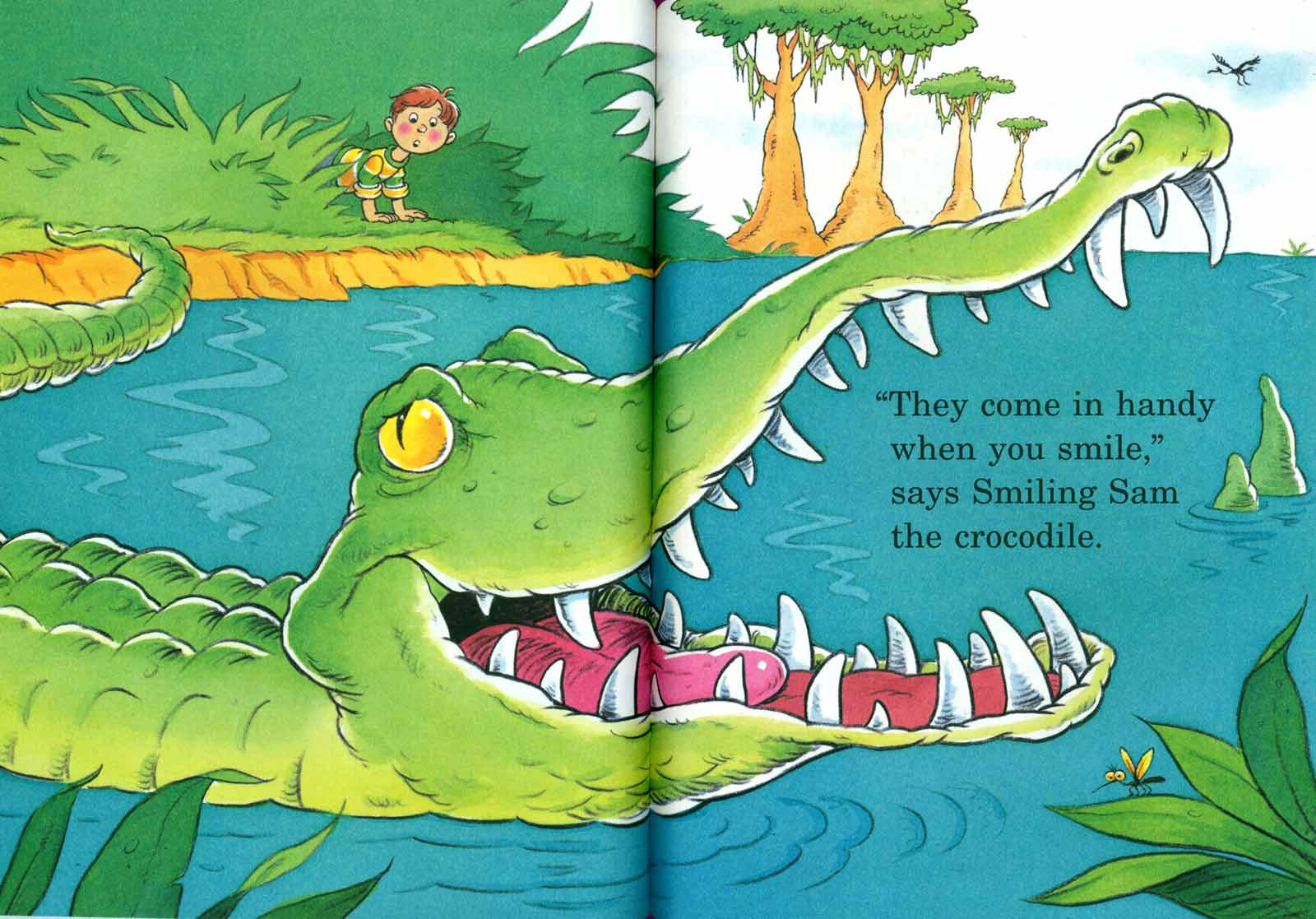 Doctor Seuss The Tooth Book Spread Three