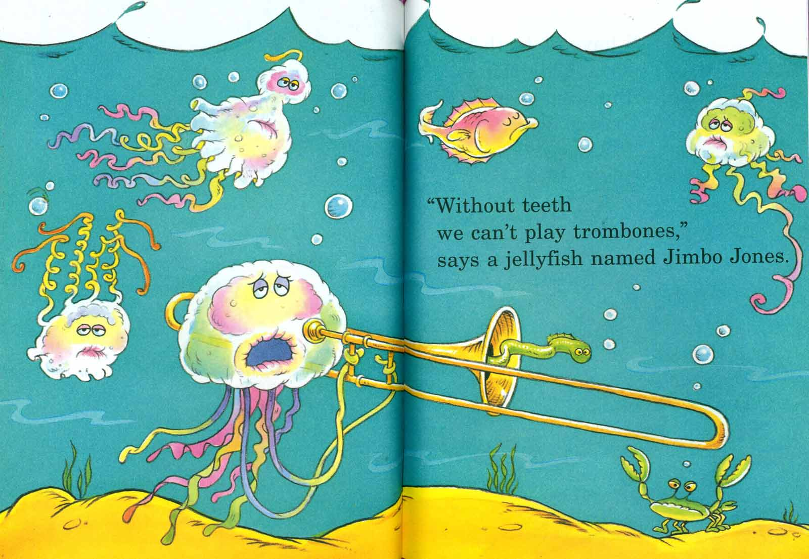 Doctor Seuss The Tooth Book Spread Four