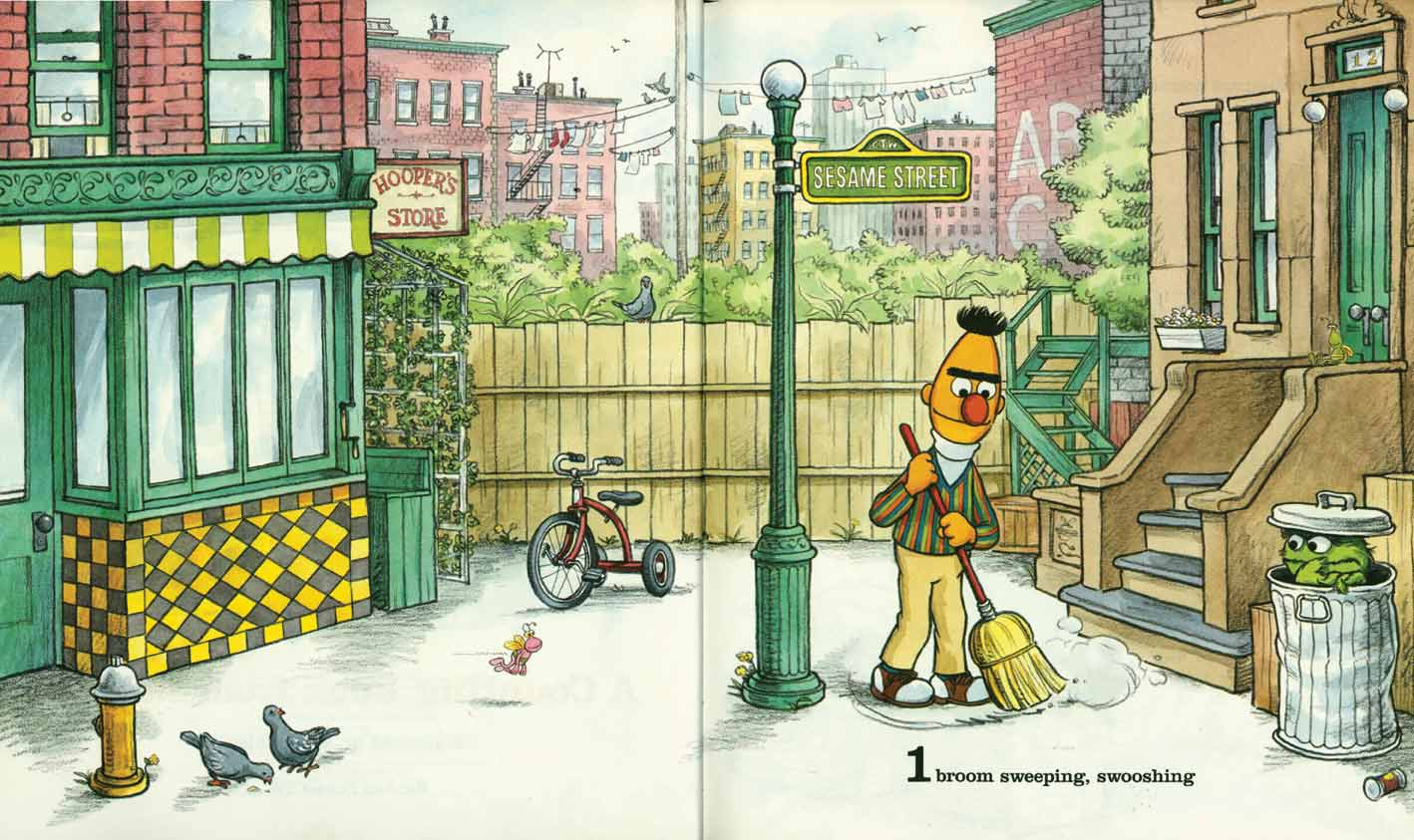 Sesame Street 123 pages 4-5