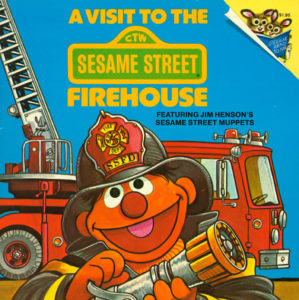 A Visit to the Sesame Street Firehouse cover