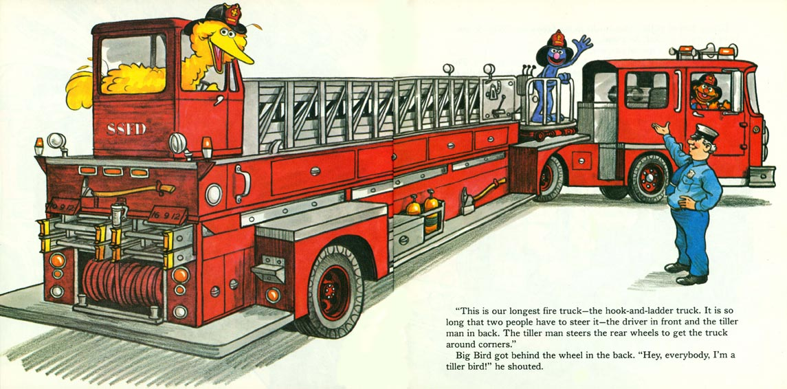 A Visit to the Sesame Street Firehouse pages 22-23
