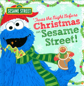 Twas the Night Before Christmas on Sesame Street cover