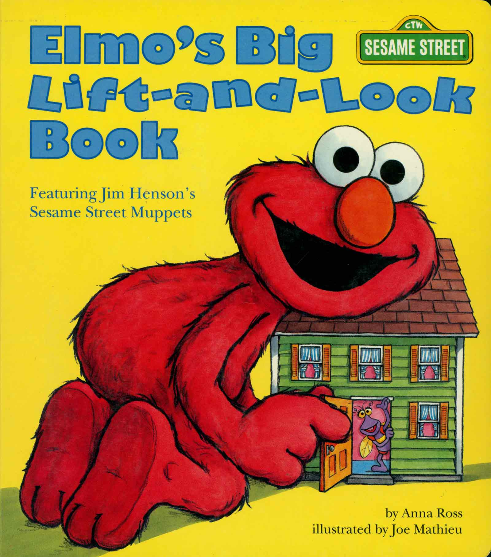 Elmo's Big Lift and Look Book