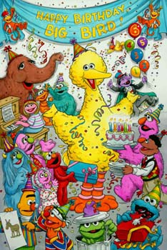 Happy Birthday Big Bird