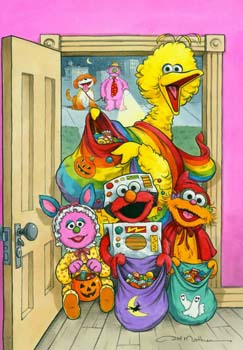 Sesame Street Trick or Treat
