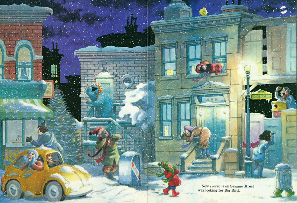 Christmas Eve On Sesame Street.Christmas Eve On Sesame Street Joe Mathieu